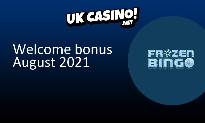 Latest Frozen Bingo bonus