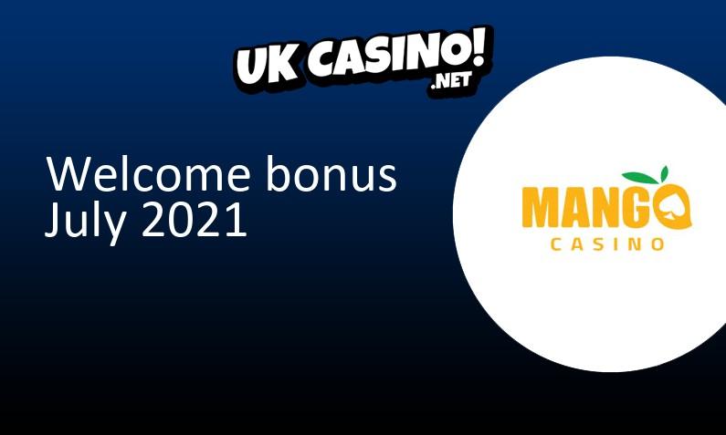 Latest Mango Casino bonus