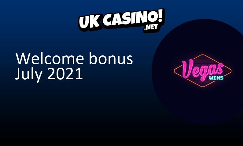 Latest Vegas Wins Casino bonus July 2021, 50 Free spins