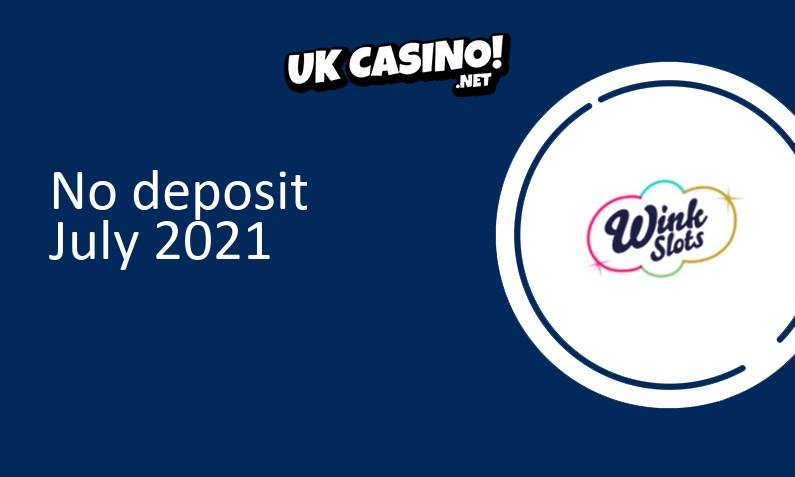 Latest Wink Slots Casino no deposit bonus- 22nd of July 2021