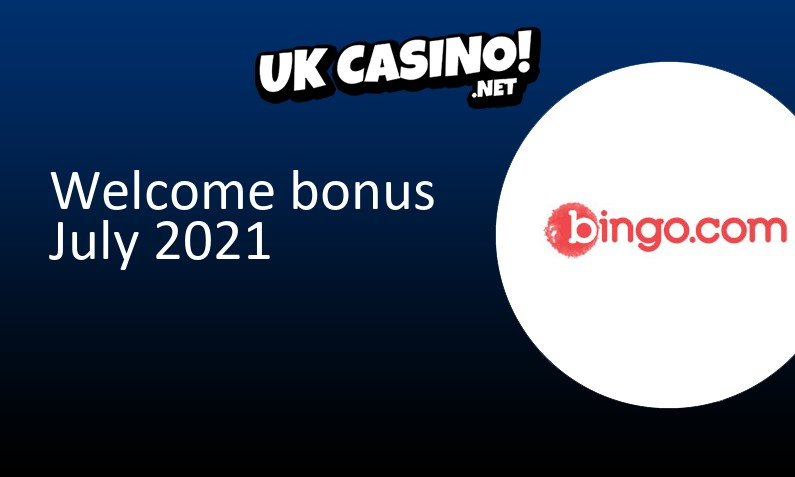 New bonus from Bingo com