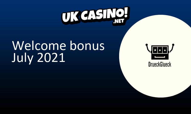 New bonus from DrueckGlueck Casino, 50 Extra spins